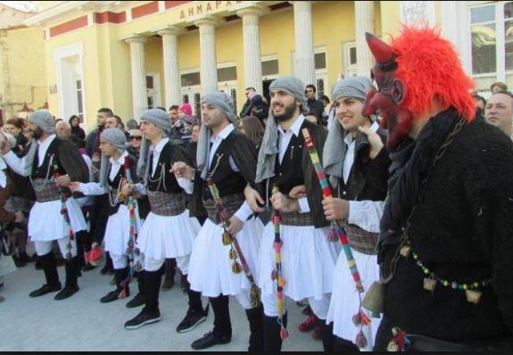 Συγχαρητήριο του Δήμου Κοζάνης  για την ένταξη του δρώμενου των Μωμόγερων στον Αντιπροσωπευτικό Κατάλογο της UNESCO,