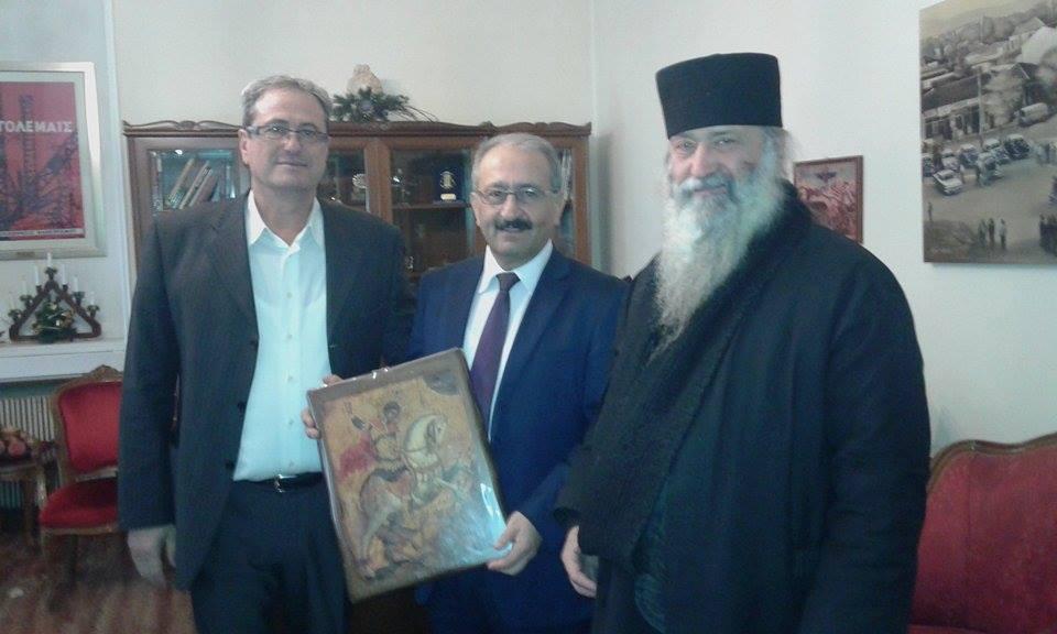 kozan.gr: Ευχές για την ονομαστική του εορτή δέχτηκε ο Δήμαρχος Εορδαίας Σάββας Ζαμανίδης (Φωτογραφίες & Βίντεο)
