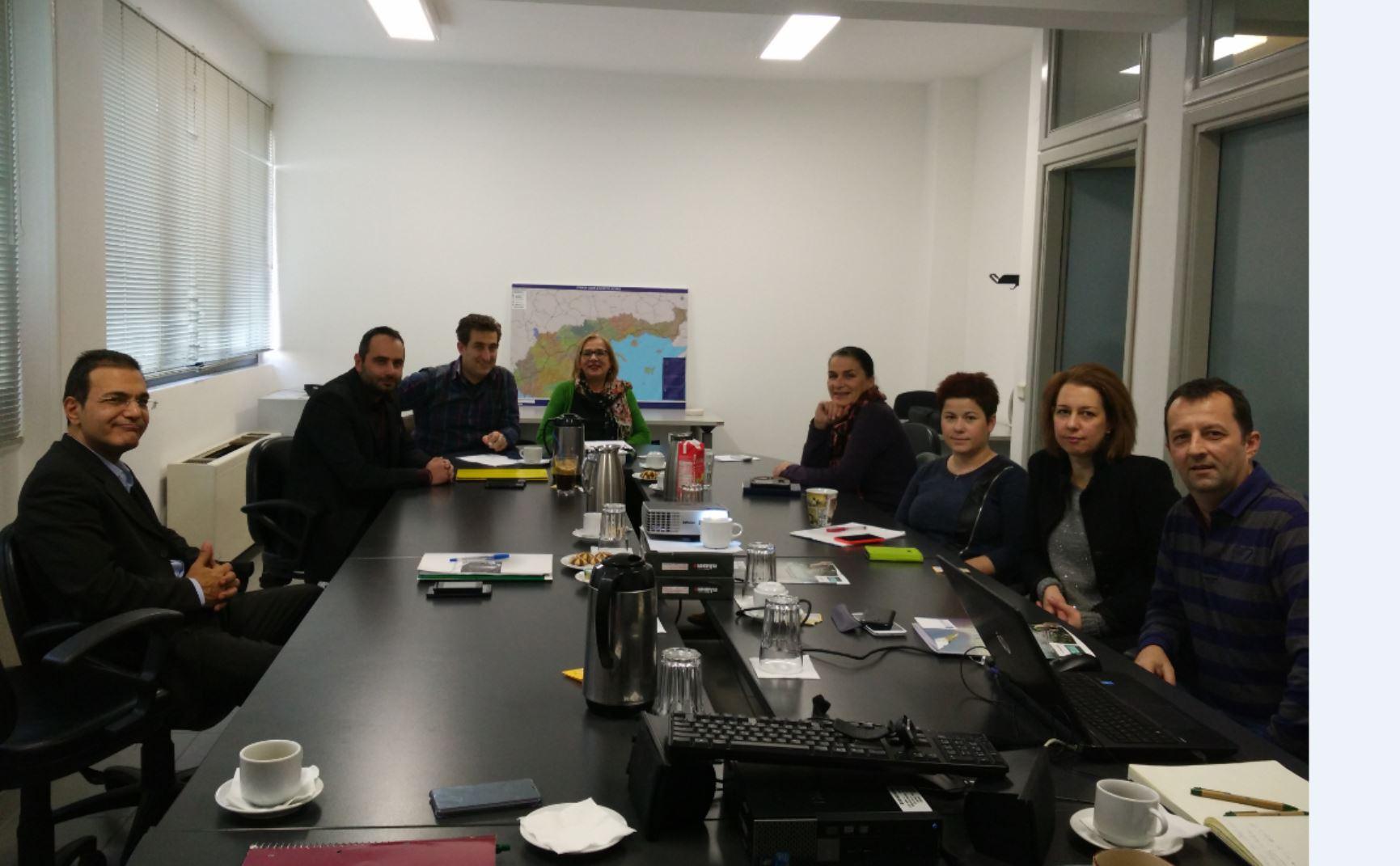 Συνάντηση για το Έργο «Γεωπύλη Πολιτισμικής Εγνατίας – Υπηρεσίες Προώθησης του Πολιτισμού και Τουρισμού των Περιφερειών που διασχίζει η Εγνατία οδός»
