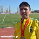 Σε έναν ακόμη αγώνα υπεραπόστασης συμμετείχε ο δρομέας της ΑΕΚ Γιώργος Ζαχαριάδης