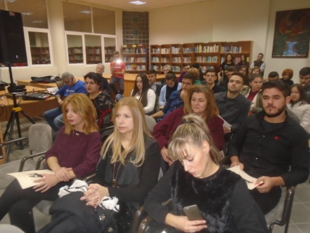 kozan.gr: Φοιτητές του ΤΕΙ Δυτικής Μακεδονίας και φοιτητές ERASMUS, διάβασαν σονέτα του Σαίξπηρ(Βίντεο & Φωτογραφίες)