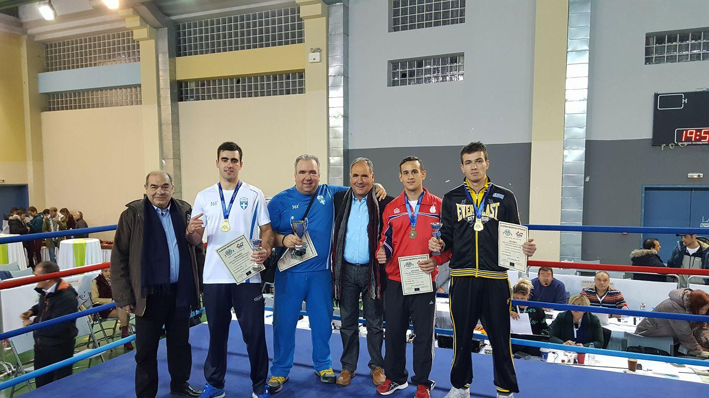 Ιστορία έγραψαν οι πυγμάχοι του Εθνικού Κοζάνης στους αγώνες του Πανελλήνιου πρωταθλήματος πυγμαχίας Α' κατηγορίας ανδρών
