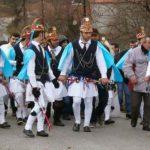 Οι «μωμόγεροι» του Μορφωτικού Πολιτιστικού Συλλόγου Σκήτης «Εύξεινος» στο Ε.Ε.Ε.Ε.Κ Κοζάνης