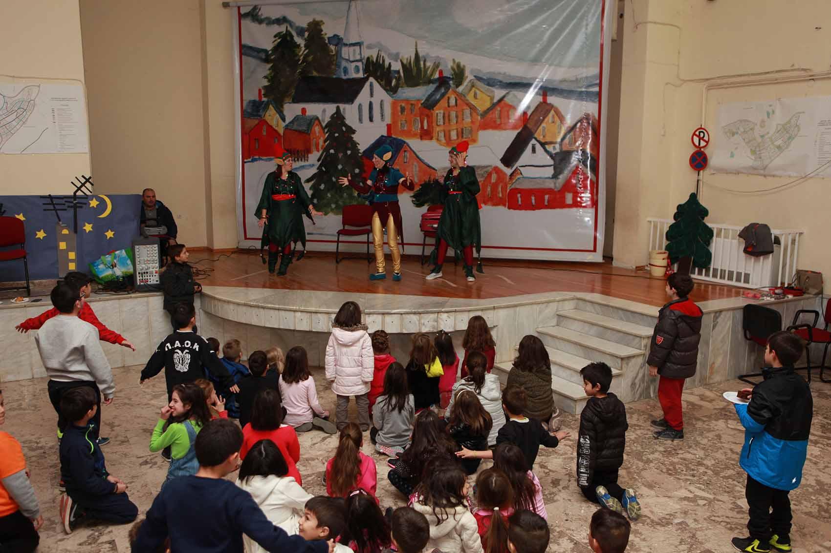 Άλλη μια υπέροχη Χριστουγεννιάτικη γιορτή του Δήμου Κοζάνης στην Ποντοκώμη (Φωτογραφίες)