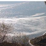 Πάγωσε τμήμα της λίμνης Πολυφύτου, πλησίον της γέφυρας Ρυμνίου! (Φωτογραφίες)