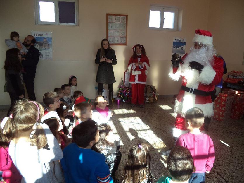 Επιτυχημένη η παιδική Χριστουγεννιάτικη γιορτή στην Κερασιά Κοζάνης