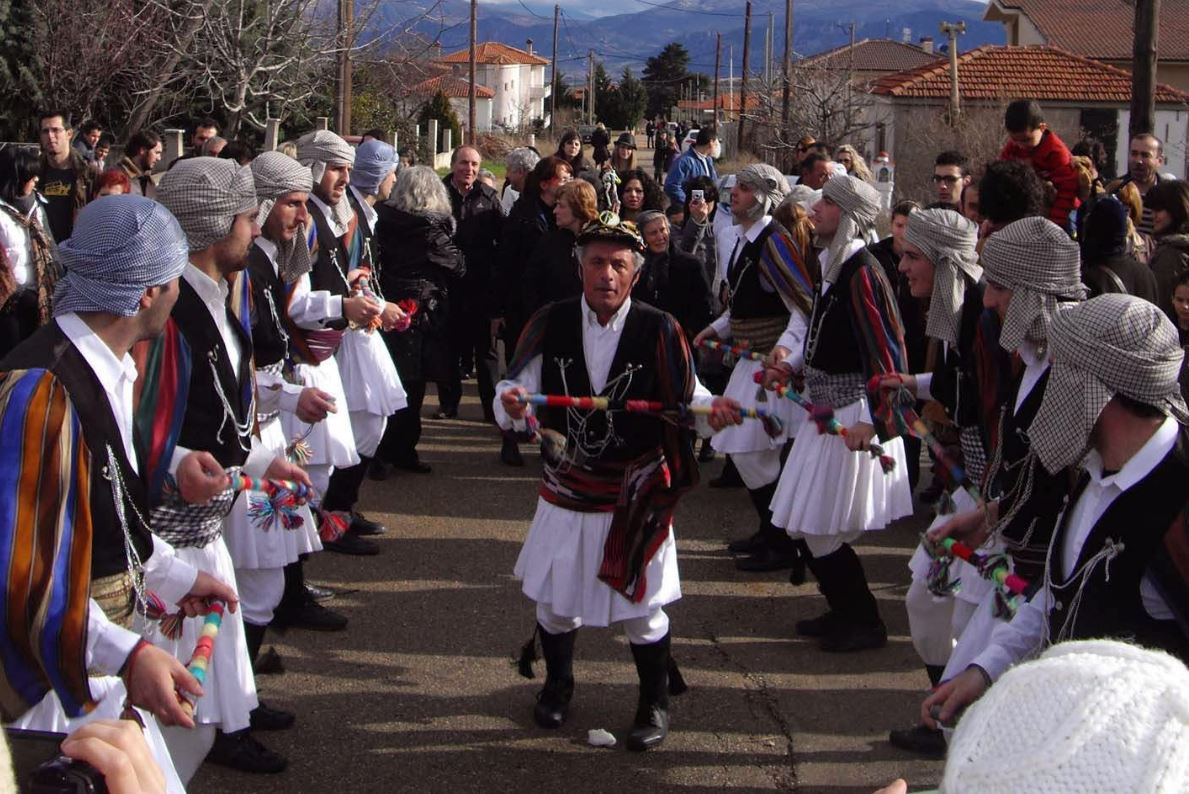 Tα Μωμοέρια του Πορτοράζ στην πλατεία Αριστοτέλους στην Θεσσαλονίκη, το Σάββατο 31 Δεκεμβρίου