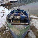 Σύλληψη τεσσάρων αλλοδαπών σε λίμνη της Φλώρινας για παράνομη αλιεία (Φωτογραφίες)