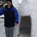 kozan.gr: To εντυπωσιακό «Ιγκλού», από χιόνι, στην Χαραυγή Κοζάνης (Φωτογραφίες)