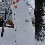 Γέμισε Χιονάνθρωπους η Σιάτιστα (Bίντεο)