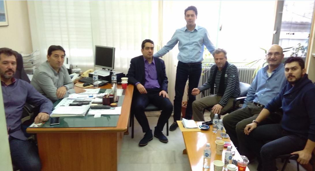 Συνάντηση του Σωματείου Εργαζομένων ΔΕΗ η «ΕΝΩΣΗ», με τον βουλευτή του Σύριζα Π.Ε. Κοζάνης Ι.Θεοφύλακτο