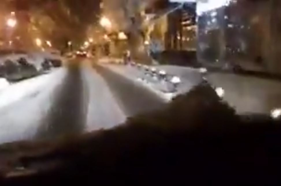 kozan.gr: Ώρα 7.00 π.μ.: H κατάσταση στους δρόμους της Πτολεμαΐδας (Bίντεο)