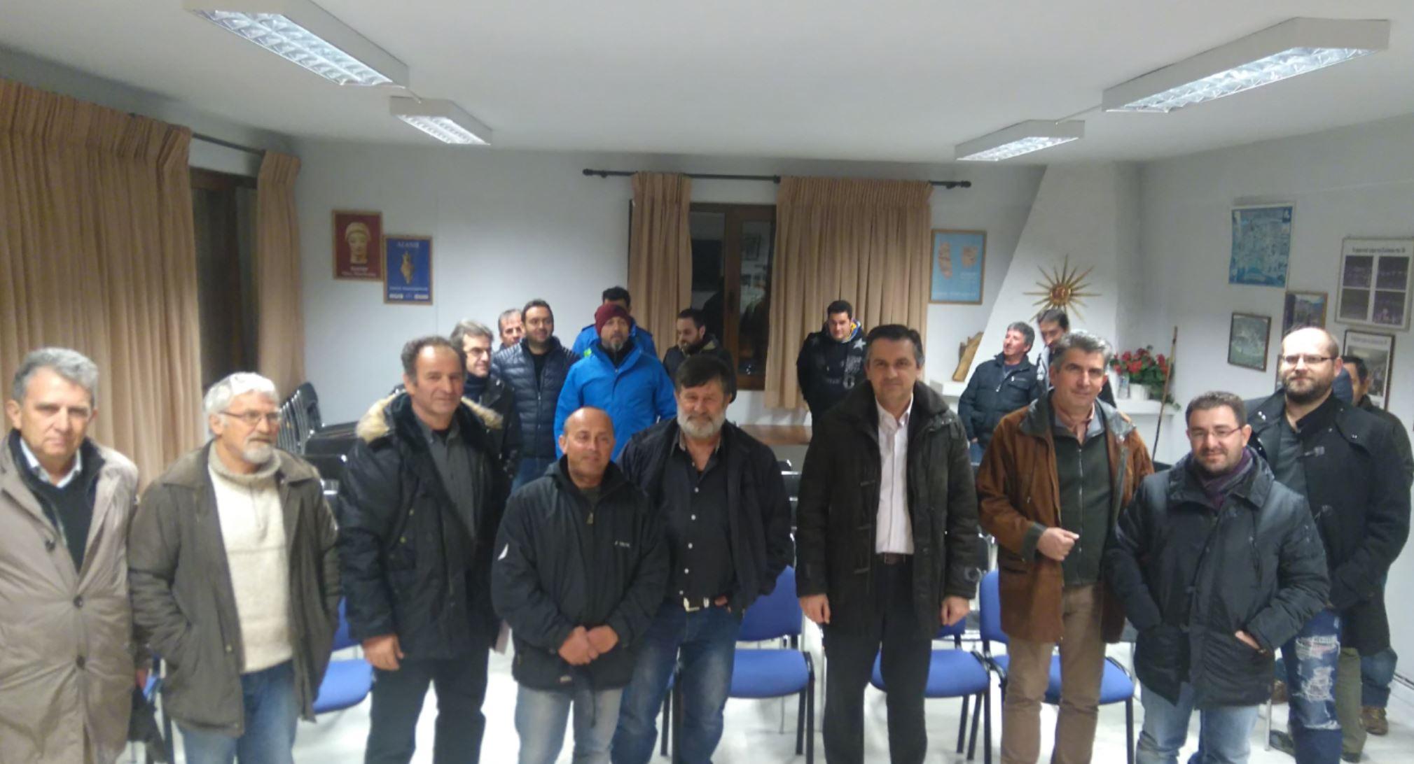 Mε παραγωγούς και πολίτες του Χρωμίου Kοζάνης συναντήθηκε ο Γ. Κασαπίδης