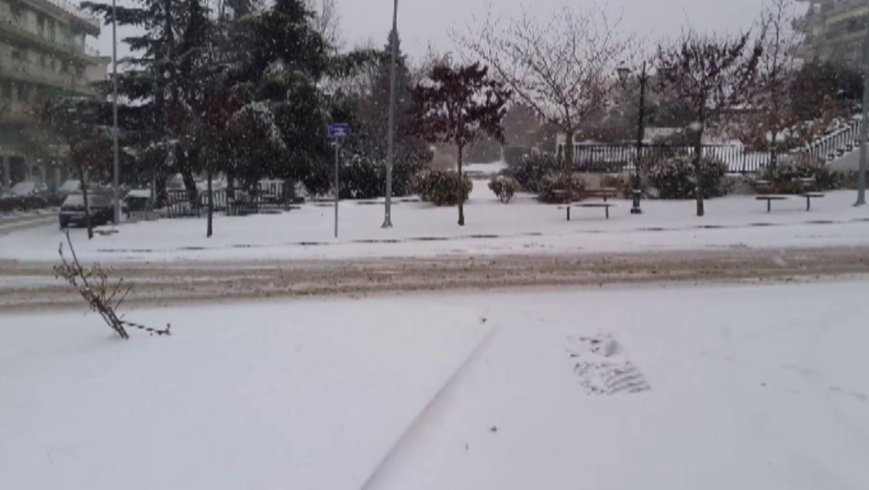 "kozan.gr: Ώρα 08:30 – 09:00 π.μ.: ""Άσπρισαν"" τα πάντα στην Κοζάνη – Η κατάσταση στους δρόμους της πόλης – Εικόνες από διάφορα σημεία (Βίντεο 9′)"