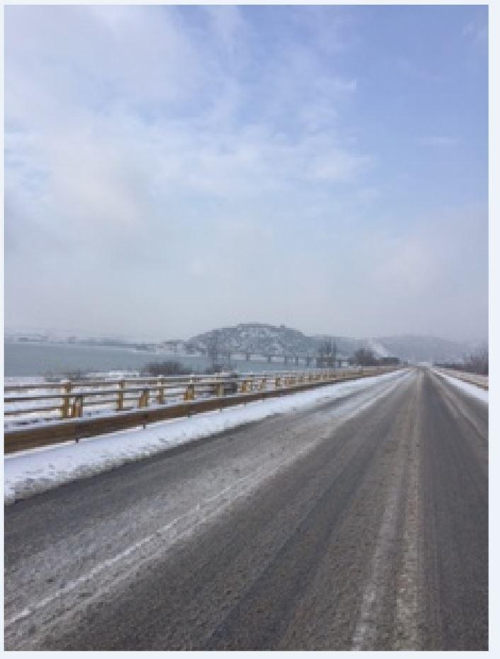 Ώρα 15:00: H κατάσταση στο οδικό δίκτυο κοντά στη γέφυρα των Σερβίων (Φωτογραφίες)