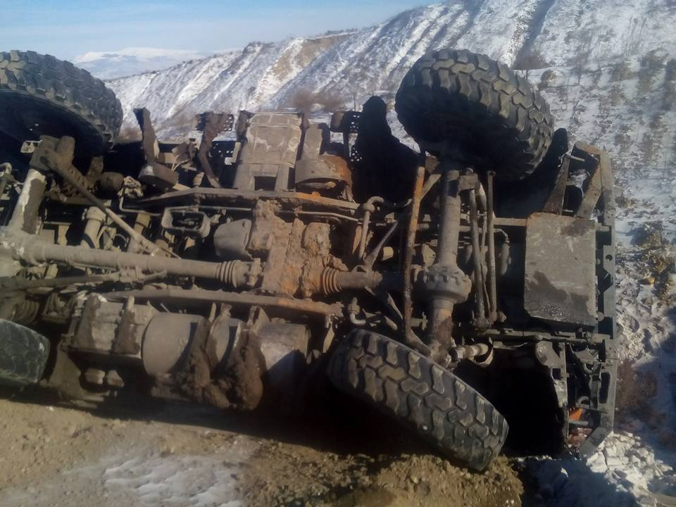 kozan.gr: Ανατροπή Unimog στο Ορυχείο Αμυνταίου της ΔΕΗ (Φωτογραφίες)