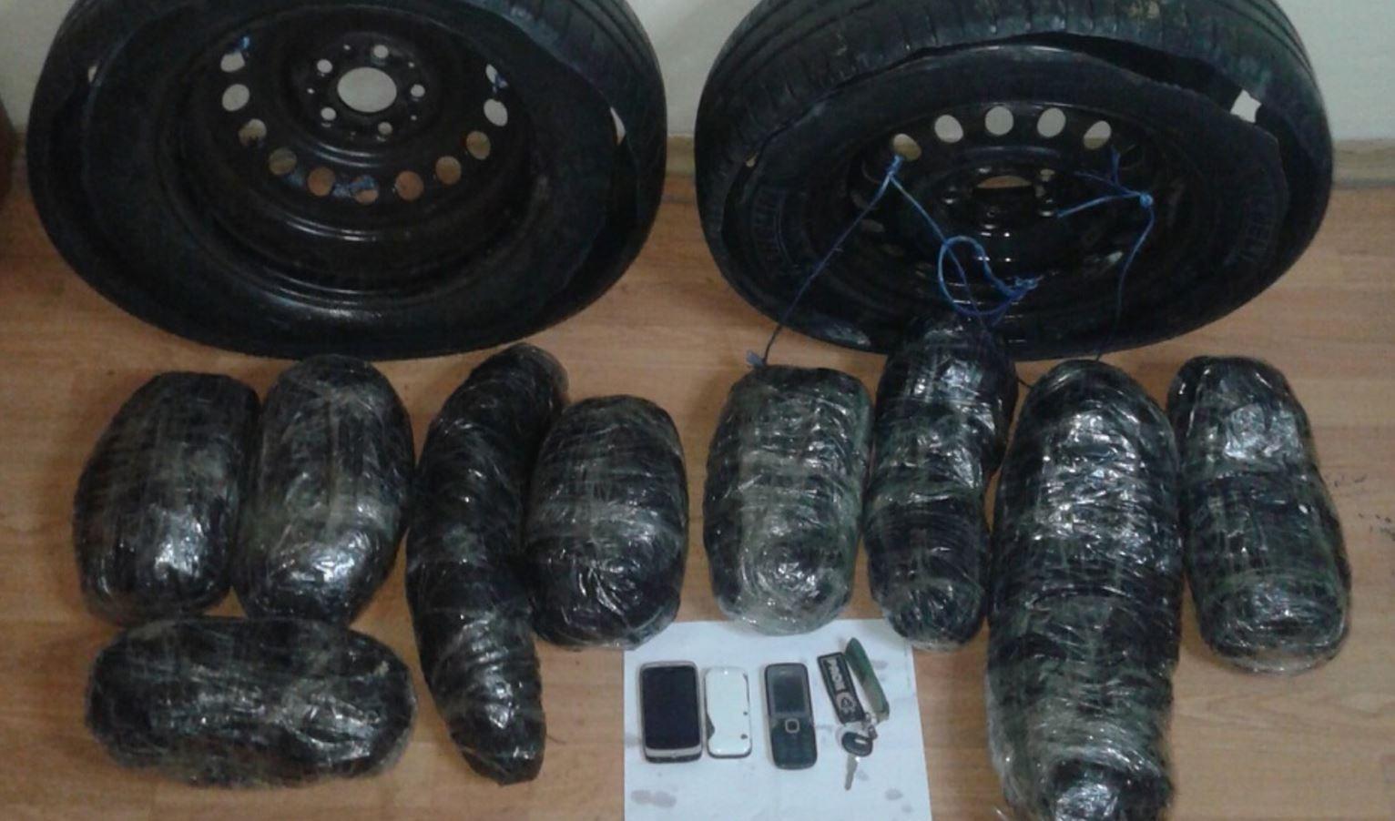 Συνελήφθησαν ακόμα δυο άτομα σε περιοχή της Καστοριάς για διακίνηση πάνω από 10 κιλά ακατέργαστης κάνναβης (Φωτογραφίες)