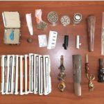 Σύλληψη 33χρονου σε περιοχή των Γρεβενών για παραβάσεις των νόμων περί ναρκωτικών και τελωνειακού κώδικα (Φωτογραφία)