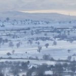 kozan.gr: Βίντεο, πανοραμικής, σημερινής, λήψης, από τoν Αϊ-Σαράντη, με εικόνες από τη χιονισμένη πόλη της Κοζάνης μέχρι και τη λίμνη Πολυφύτου