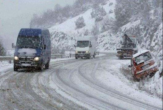 Ώρα: 10.00: H κατάσταση στο οδικό δίκτυο της Περιφέρειας Δυτικής Μακεδονίας, ανά Περιφερειακή Ενότητα