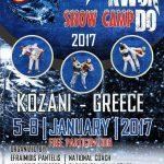 250 αθλητές του Tae Kwon Do, στην Κοζάνη, από τις 5 έως και τις 8 Ιανουαρίου, για το Διεθνές Snow Camp