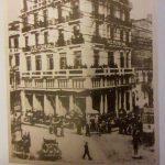 """kozan.gr: To άλλοτε ξενοδοχείο """"Αστόρια"""" στη Θεσσαλονίκη, επί της συμβολής των οδών Αγ. Σοφίας & Τσιμισκή, που δημιούργησαν οι αδελφοί, εκ Κοζάνης, Γκοβεδάρου"""