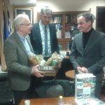 Το συνολικό σχέδιο της Περιφέρειας Δυτικής Μακεδονίας για την αγροτική ανάπτυξη παρουσίασε ο Περιφερειάρχης, στον υπουργό Αγροτικής Ανάπτυξης