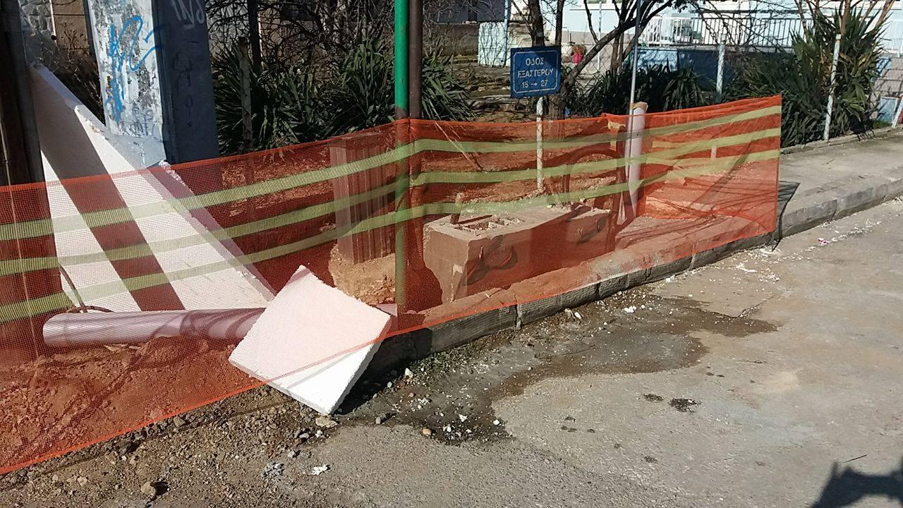 kozan.gr: Πτολεμαίδα: Διαμαρτυρία του Μιχάλη Μήγγου για θέματα προσπελάσιμοτητας των ΑμεΑ, με αφορμή τις εργασίες αναβάθμισης τηλεπικοινωνίων της πόλης (Βίντεο & Φωτογραφίες)