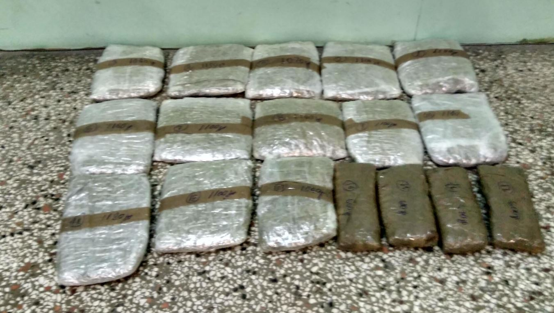 Σύλληψη 4 ατόμων για διακίνηση 16 κιλών και 700 γραμμαρίων ακατέργαστης κάνναβης σε περιοχή της Καστοριάς