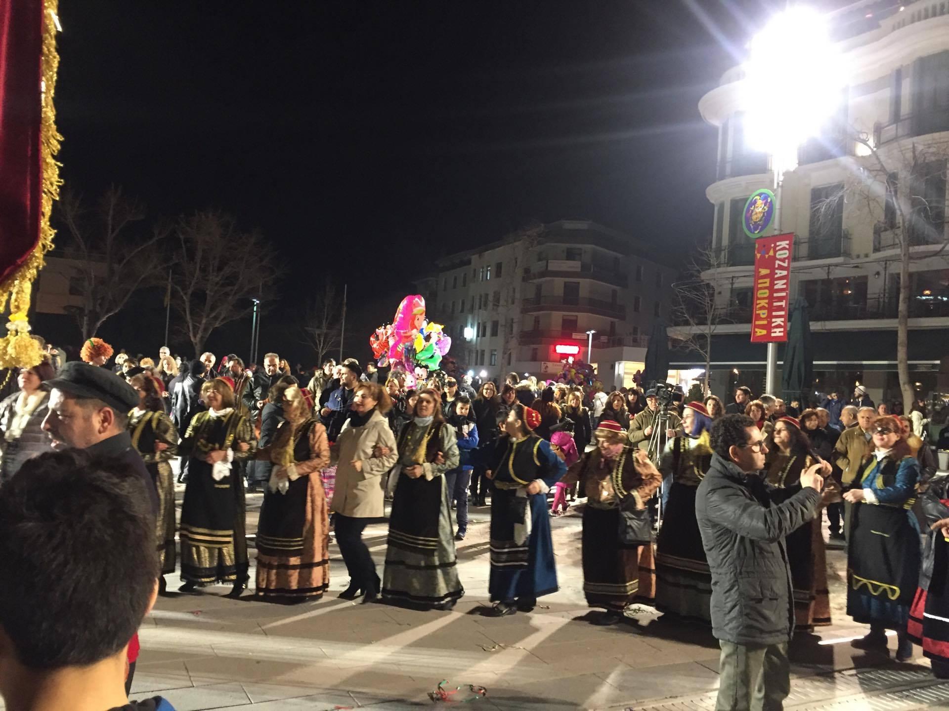 kozan.gr: Η παρουσίαση του Φανού Γιτιά στην κεντρική πλατεία της Κοζάνης (Φωτογραφίες & Βίντεο)