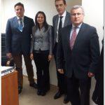 Συναντήσεις στην Αθήνα του προέδρου της  Ελληνικής Ομοσπονδίας Γούνας