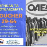 ΕΛΚΕΔΙΜ Κοζάνης: Αποτελέσματα VOUCHER 29-64