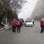 kozan.gr: Φωτογραφίες από την ομιχλώδη γέφυρα των Σερβίων, όπου  πραγματοποιούνται οι έρευνες για τον 46χρονο, από το Λιβαδερό