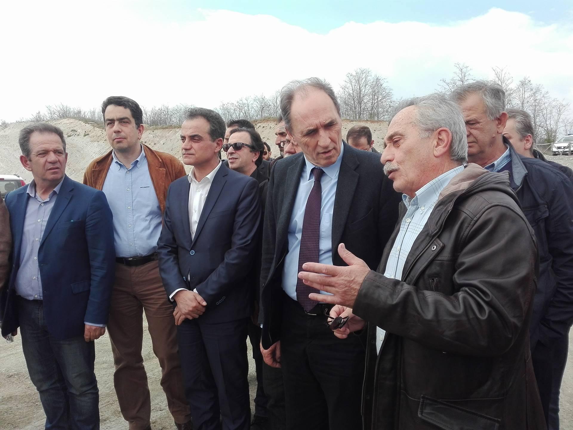 "kozan.gr: Ξενάγηση του Υπουργού Ενέργειας & Περιβάλλοντος, Γ. Σταθάκη, στην υπό κατασκευή λιγνιτική μονάδα ""Πτολεμαίδα 5"" (Βίντεο & Φωτογραφίες)"