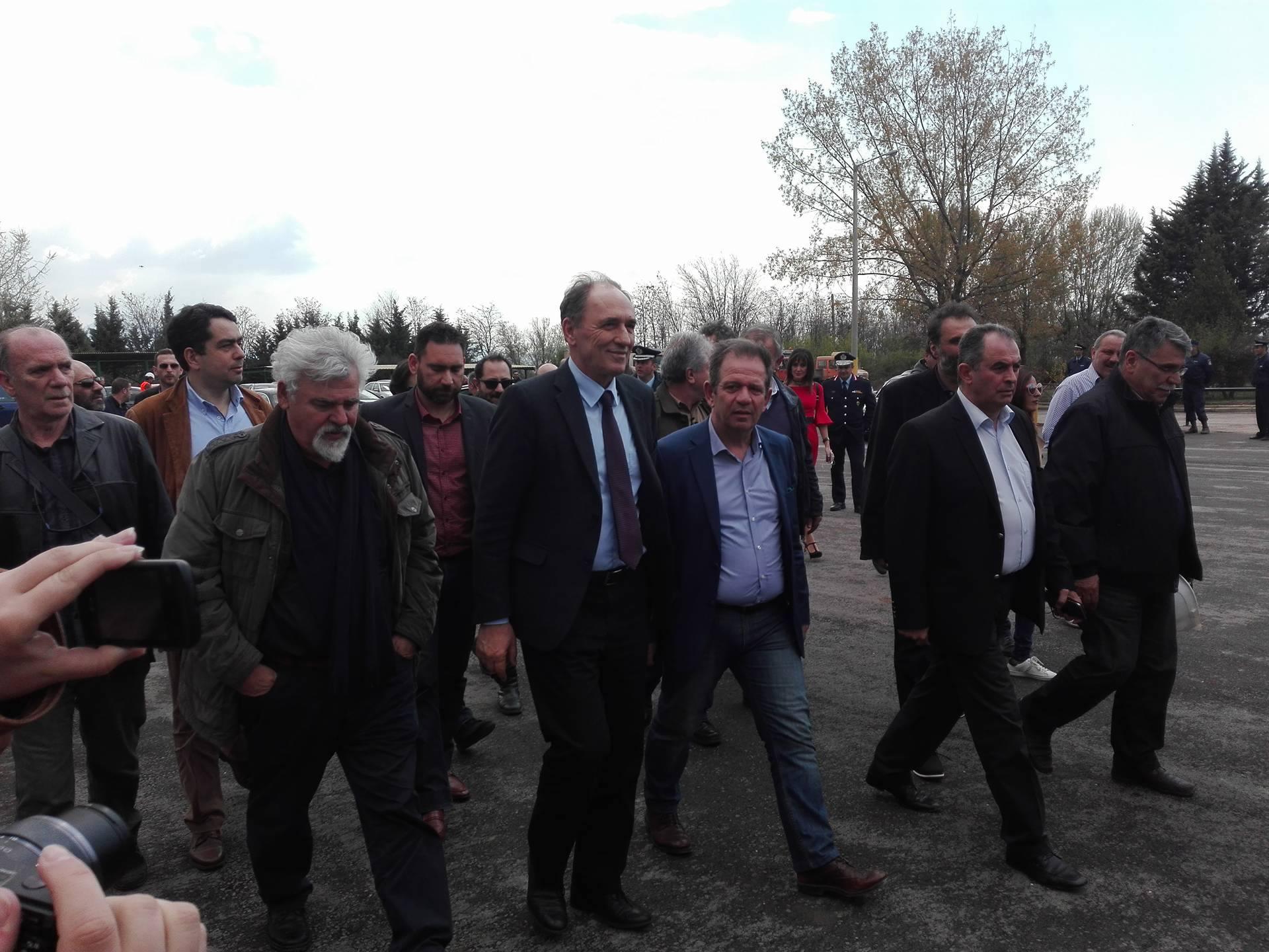 kozan.gr: Στο Νότιο Πεδίο της ΔΕΗ ο υπουργός Ενέργειας και Περιβάλλοντος, Γιώργος Σταθάκης (Bίντεο & Φωτογραφίες)