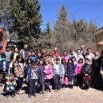 Επίσκεψη του δημοτικού σχολείου Ακρινής στο 'Τιάλειο' εκκλησιαστικό ίδρυμα στην Κοζάνη (Φωτογραφίες)