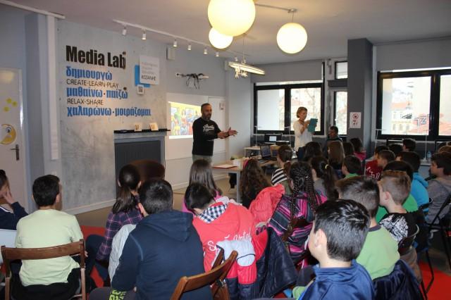 Ξεκίνησαν τα μαθήματα δημιουργικής γραφής για παιδιά, στην Κοβεντάρειο Δημοτική Βιβλιοθήκη Κοζάνης