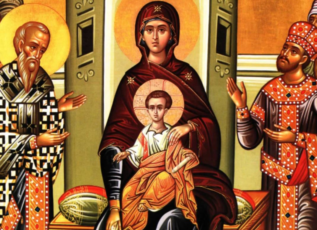 Πολιτιστικός Σύλλογος «Ο ΑΛΙΑΚΜΩΝ» περιοχής Τσιαρτσιαμπά: O Ακάθιστος Ύμνος στο Μοναστήρι της Αγίας Τριάδος