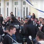 kozan.gr: Οι φίλαθλοι του ΠΑΟΚ στην κεντρική πλατεία της Κοζάνης, ενόψει του σημερινού ημιτελικού της ομάδας του στο χάντμπολ, με τον Φίλιππο Βέροιας, στο Κλειστό της Λευκόβρυσης, στις 15:00 (Βίντεο)