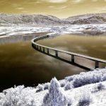 Η υψηλή Γέφυρα Σερβίων – Νεράιδας σε μια καλλιτεχνική απεικόνιση
