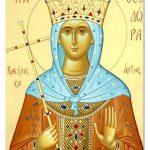 ΜνήμητηςεκΣερβίων Οσίας Θεοδώρας, την Κυριακή Γ΄ Νηστειών (Σταυροπροσκυνήσεως), 11 Μαρτίου 2018