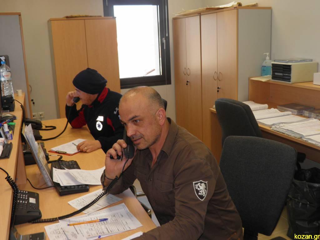 kozan.gr: Μ. Δουλγεράκης για το νέο κτήριο του ΕΚΑΒ Κοζάνης: «Επιτέλους μεταφέρθηκε το τηλεφωνικό κέντρο στο νέο μας κτήριο, αλλά και οι διοικητικές υπηρεσίες. Σε σύντομο χρονικό διάστημα θα μεταφερθούν και κάποια από τα πληρώματα». Τι είπε για τις ελλείψεις προσωπικού (Βίντεο & Φωτογραφίες)