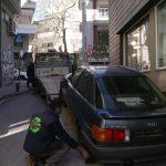 Απομακρύνονται τα εγκαταλελειμμένα αυτοκίνητα από τους δρόμους της Κοζάνης- Αυξάνονται οι θέσεις στάθμευσης (Βίντεο-Φωτογραφίες)