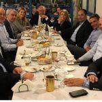 Δείπνο Μητσοτάκη με την «τάξη» βουλευτών του 2004 – Ανάμεσά τους και ο Γιώργος Κασαπίδης