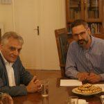 Συνάντηση του Δημάρχου Κοζάνης Λ. Ιωαννίδη με τον Γ.Γ. του Υπουργείου Εσωτερικών Κώστα Πουλάκη