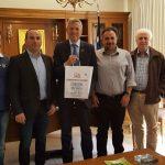 Επίσκεψη του Γενικού Προξένου της Ομοσπονδιακής Δημοκρατίας της Γερμανίας στη Θεσσαλονίκη  στο Επιμελητήριο Κοζάνης