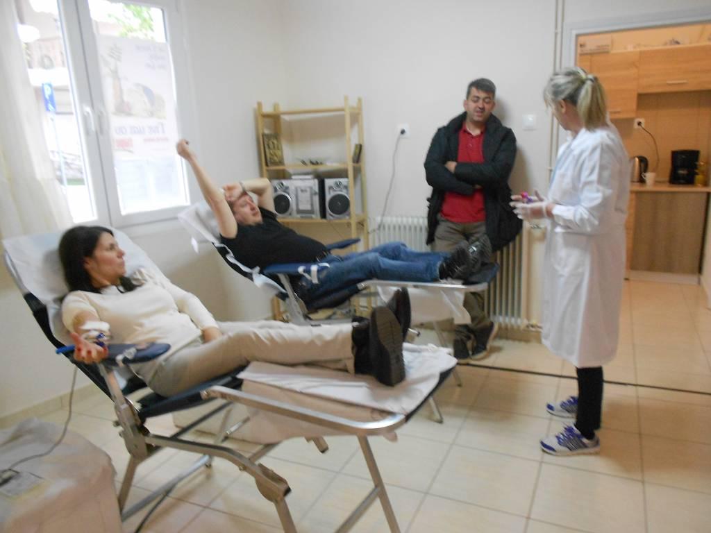 Πραγματοποιήθηκε η 1η εθελοντική αιμοδοσία μελών του Συλλόγου Λιβαδεριωτών Κοζάνης (Φωτογραφίες)