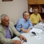 Σύσκεψη, παρουσία του Πάνου Ρήγα, με στελέχη του ΣΥΡΙΖΑ της περιοχής Εορδαίας πραγματοποιήθηκε στα Γραφεία του κόμματος στην Πτολεμαΐδα.