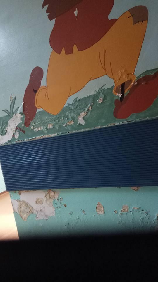 kozan.gr: Oι τοίχοι στην παιδιατρική του Μποδοσάκειου χρειάζονται συντήρηση (Φωτογραφίες)