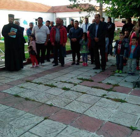 Eκδήλωση μνήμης της Γενοκτονίας των Ποντίων στα Κομνηνά Εορδαίας (Φωτογραφίες)